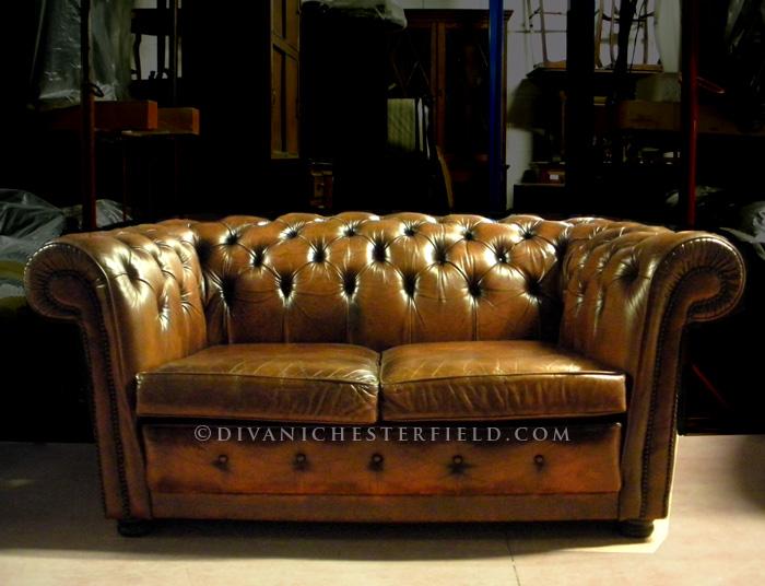 Divani Chesterfield Usati - Divano Chester Usato Vintage ...