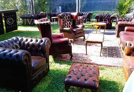Poltrone divani chesterfield nuovi vintage vendita noleggio for Divani chesterfield roma