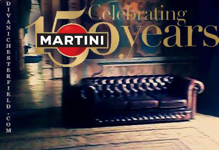 Arredo Chesterfield Martini Party 150 anni - Villa Erba (CO) - 19 Settembre