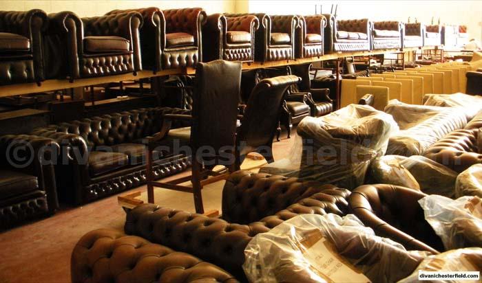 Divani Chesterfield Originali Inglesi.Poltrone Divani Chesterfield Nuovi Vintage Vendita Noleggio