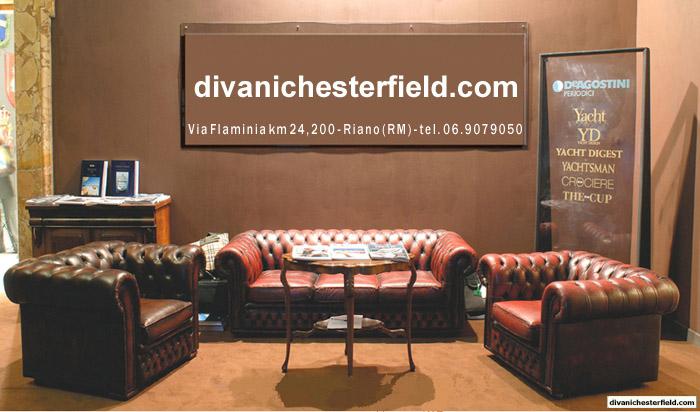 Poltrone divani chesterfield nuovi vintage vendita noleggio for Noleggio arredi milano