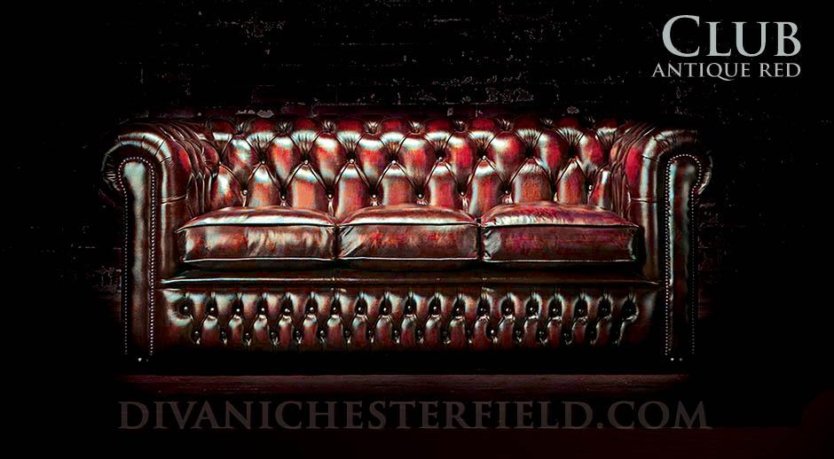 Divani chesterfield in pelle vintage originali e nuovi - Divano in inglese ...