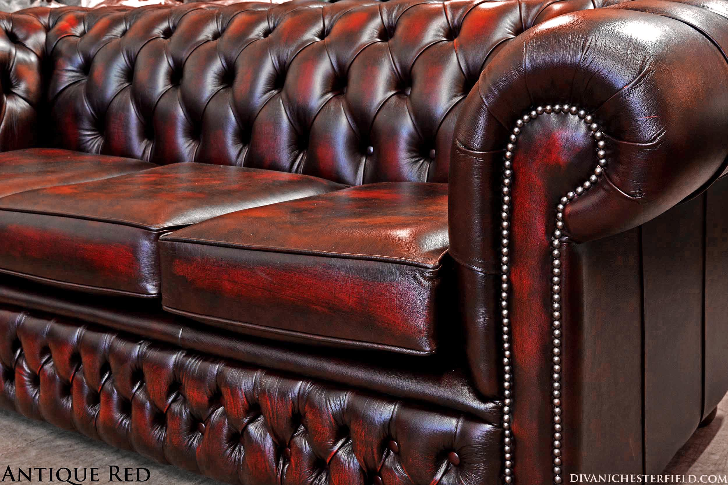 Chesterfield Divano Originale.Divano Chesterfield Club Nuovo Originale Inglese