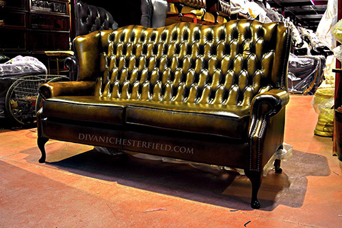 Divani In Pelle Chesterfield.Divani Chesterfield Usati In Pelle Vintage Originali Inglesi