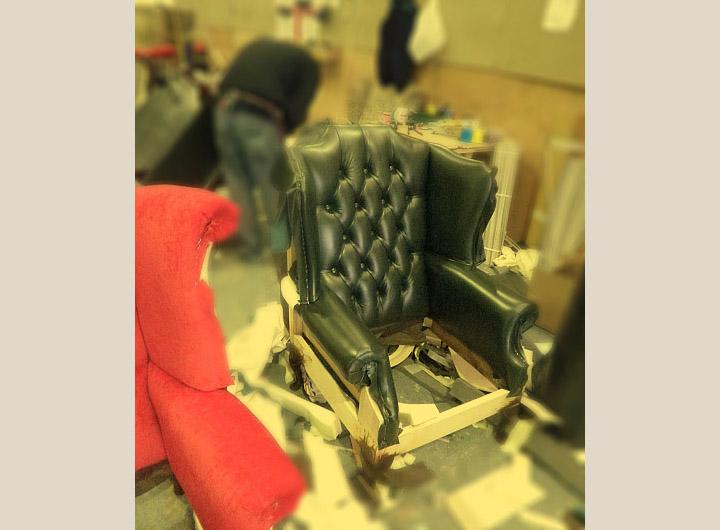 Fabbrica divani chester su misura nuovi made in england for Divani seconda mano