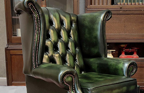 poltrona chesterfield queen anne