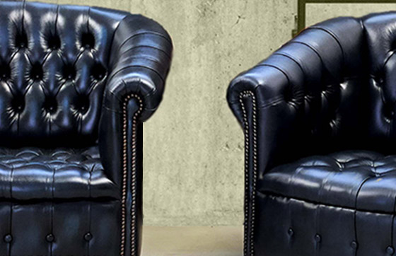 poltrona chesterfield byron